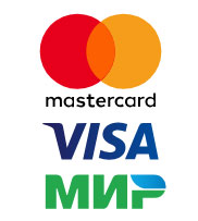 visa mastercard карта мир