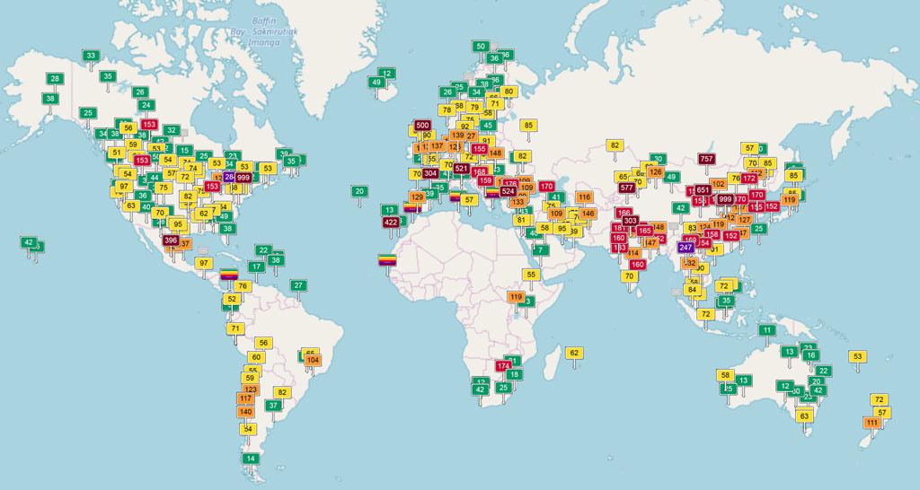 оценка качества окружающей среды загрязнение воздуха